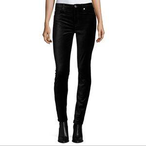 7 For All Mankind Black Velvet Jeans